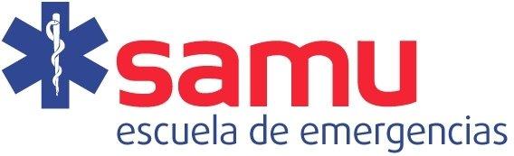 Logo samu escuela emergencias con calidad recorte